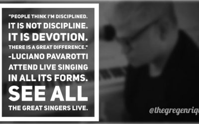 People think I'm disciplined. It is not discipline. It is devotion. There is a great difference.